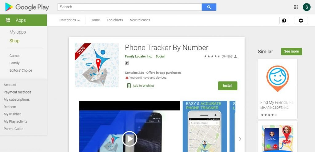 cell phone tracking apps for android